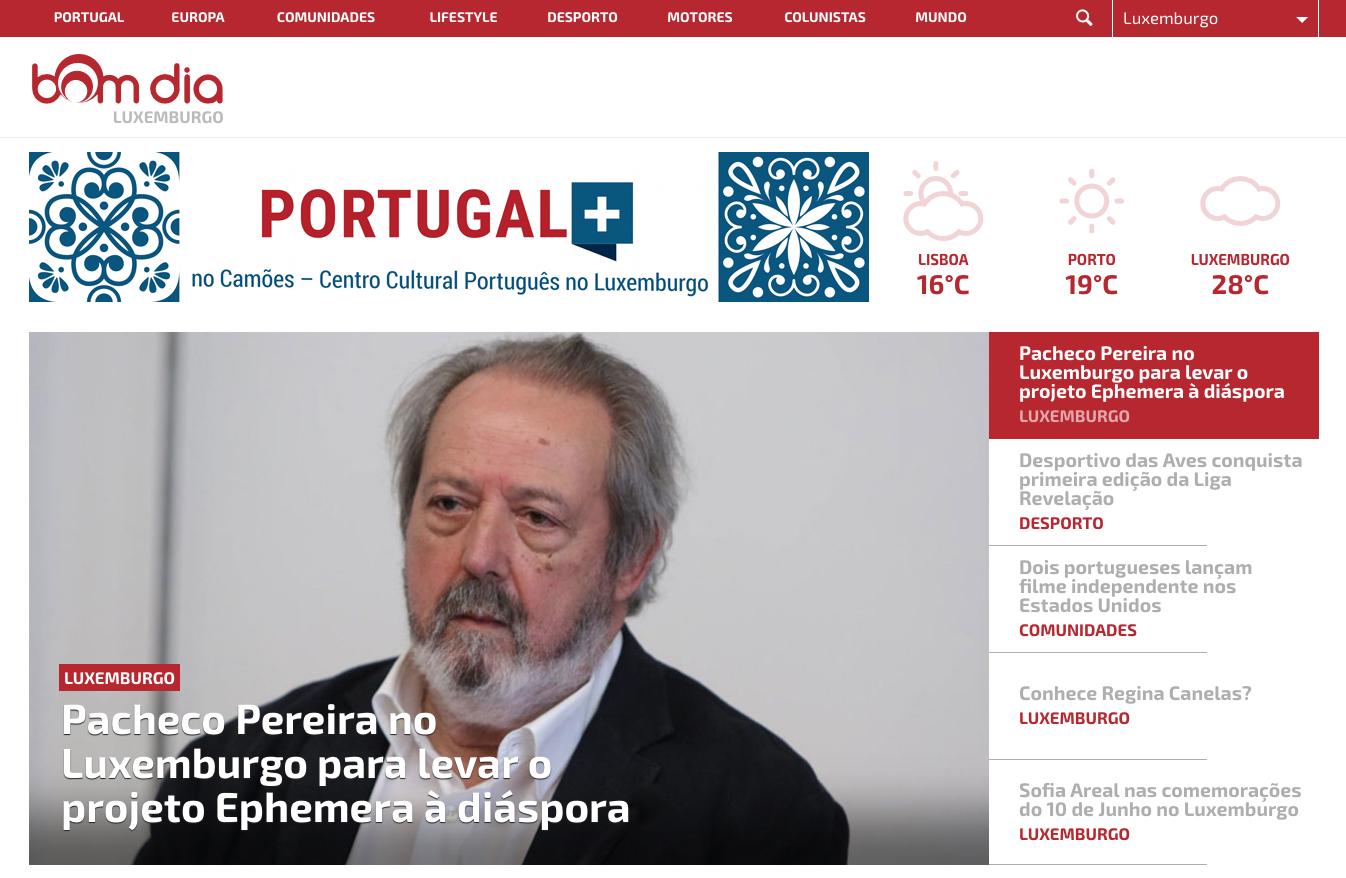 BOM DIA comemora a maioridade com evento de promoção de Portugal
